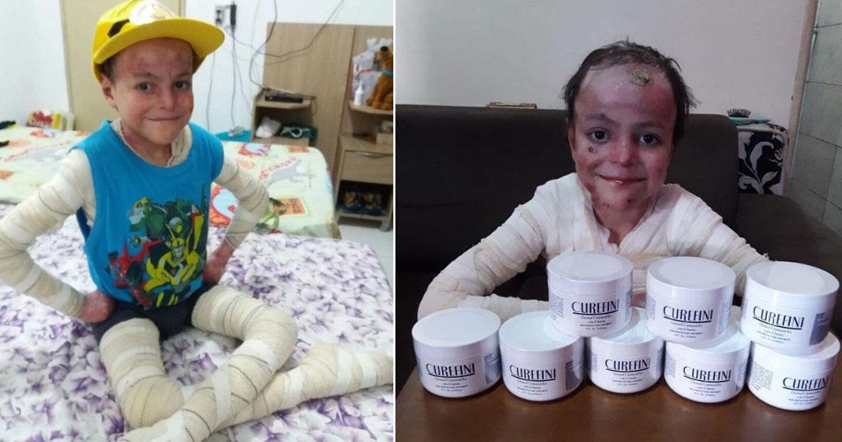 Criança de doença rara e sem cura dá lição de vida e internautas criam vaquinha para ajudar no tratamento 1