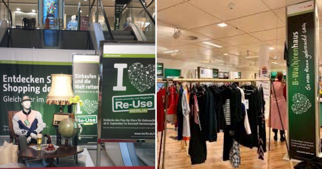 Loja de departamento só com produtos reciclados é inaugurada em Berlim, na Alemanha 1