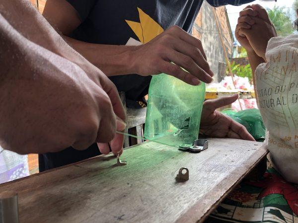 montagem da ecobarreira