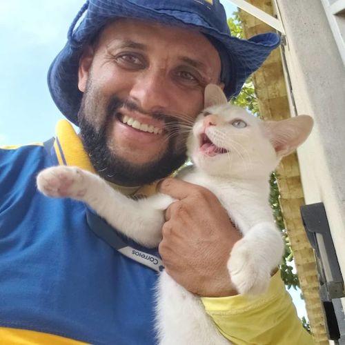 carteiro selfies com os animais 3