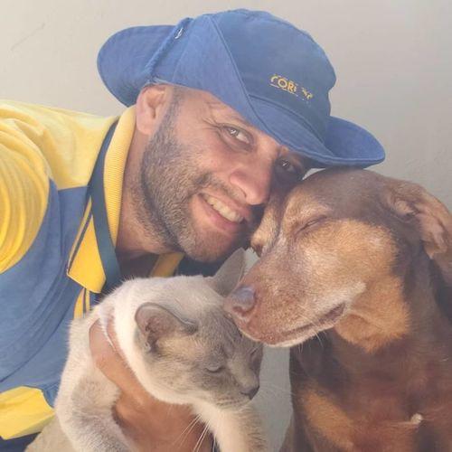 carteiro selfies com os animais 6