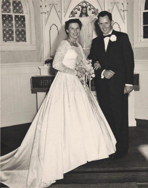 foto do casamento de marvin e lucille