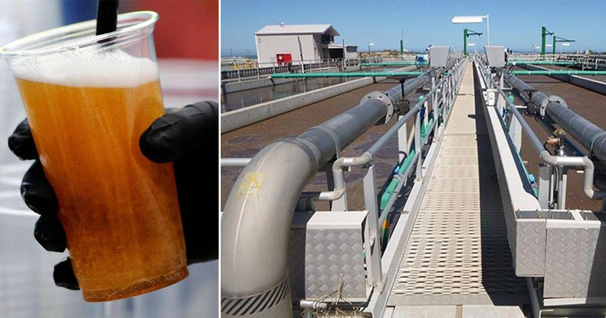 cerveja foi transformada em energia