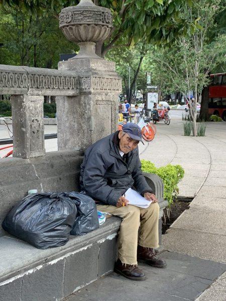 don Baldemar na praça