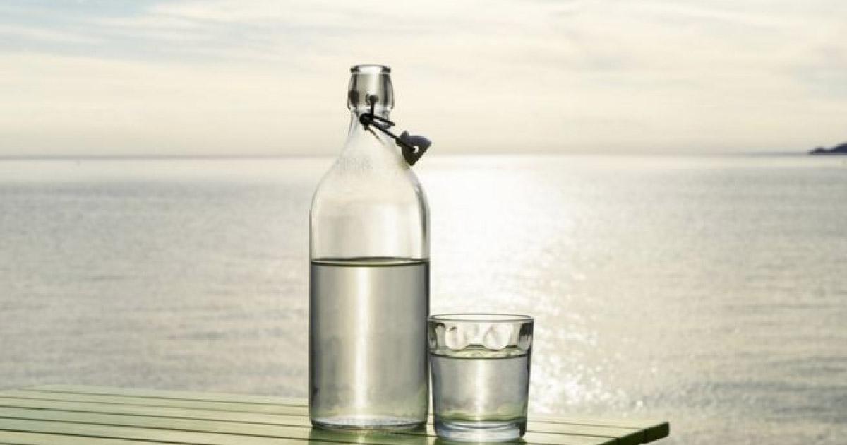 filtro de água do mar