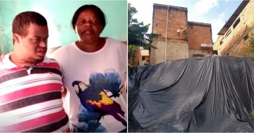 Mulher pede ajuda para reformar a casa, que pode desabar com a chuva, e ganha vaquinha de internautas 1