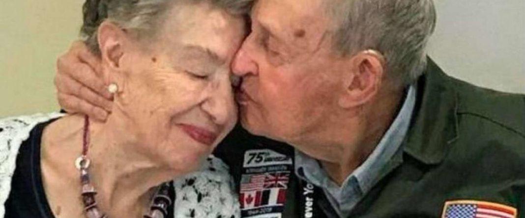 75 anos depois, soldado reencontra mulher por quem se apaixonou durante a Segunda Guerra Mundial 2