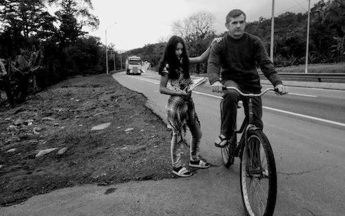 pai pedala 14km filhos 3