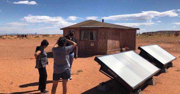 paineis para geração de água pela luz solar