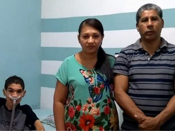 samuca e familia