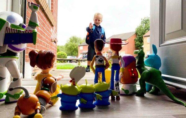 reprodução da foto do Toy Story