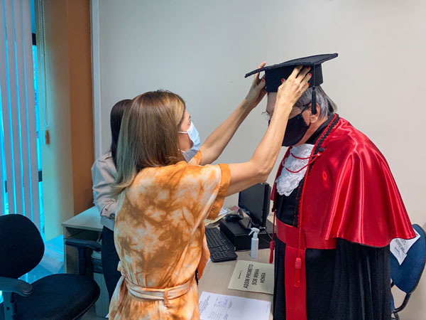 wandbergh se graduando
