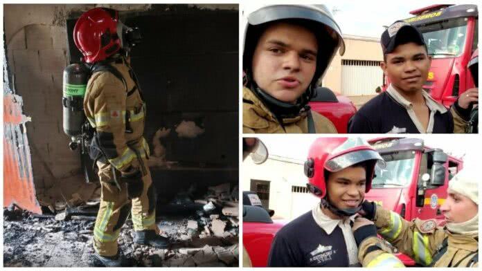 Herói! Adolescente salva mulher e os dois filhos dela de incêndio 3