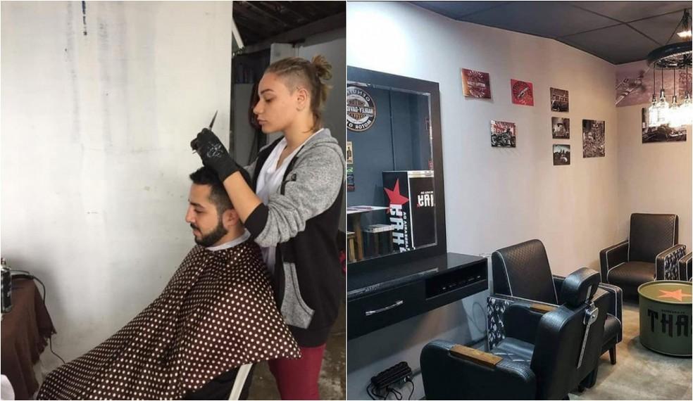Em um ano, jovem que cortava cabelo por R$ 2 na garagem conquista o próprio salão (SP) 5