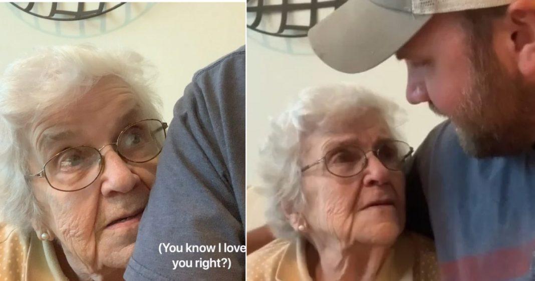 [VÍDEO] Alerta de lencinho! Essa avó se declarando para o neto é a coisa mais linda que você verá hoje! 1