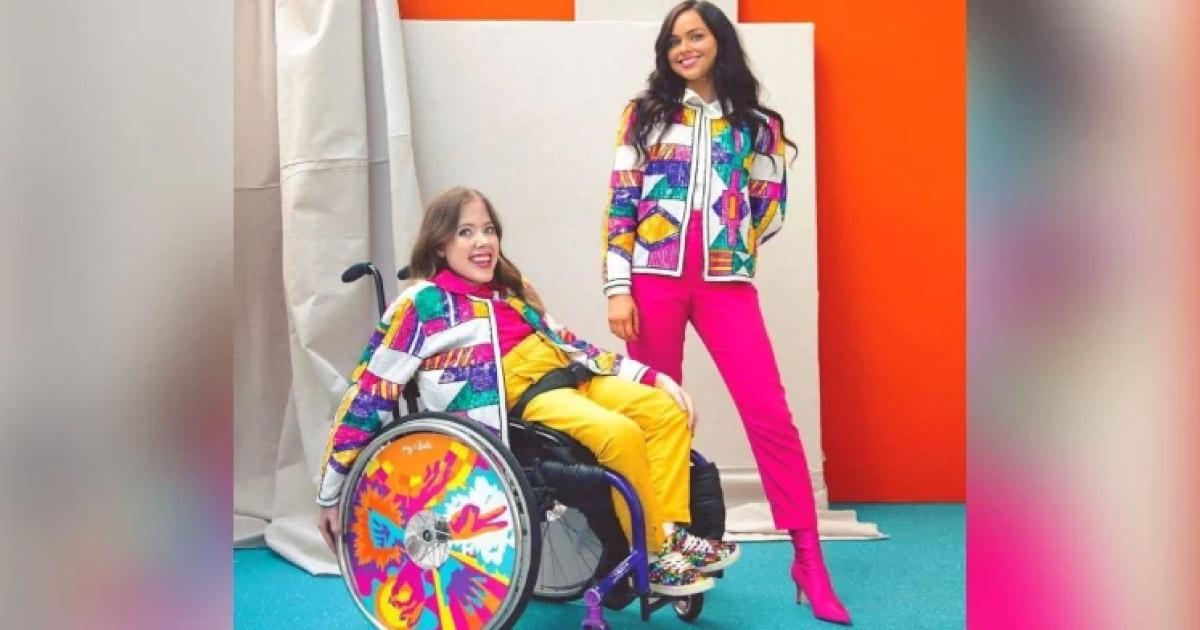 irmãs inventam capinha para cadeira de rodas