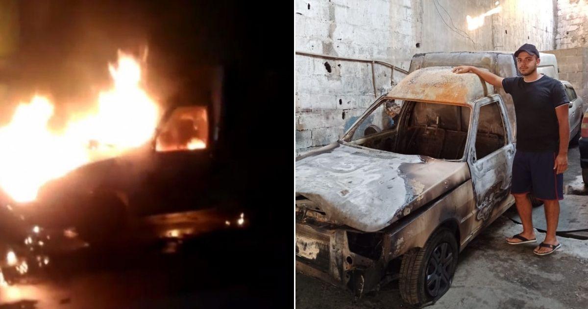 Jovem perde carro em incêndio e recebe mais de R$ 23 mil em doações para comprar um novo! 1