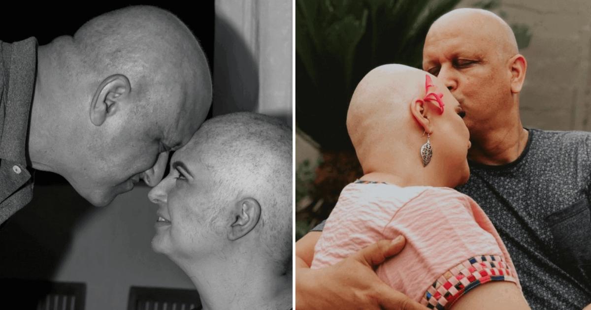 casal enfrenta junto câncer