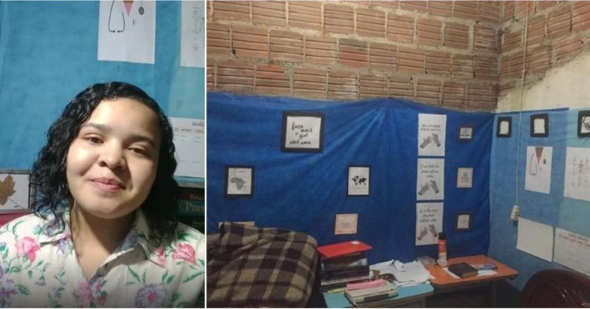Deborah sonha em estudar medicina na argentina