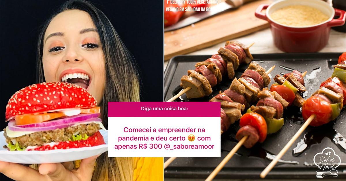 Estudante supera crise financeira abrindo delivery de comida vegetariana com apenas R$ 300, em SP 2