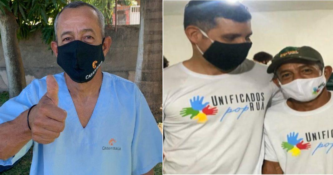 Ex-morador de rua no Recife vira voluntário do projeto que o ajudou a mudar de vida 1