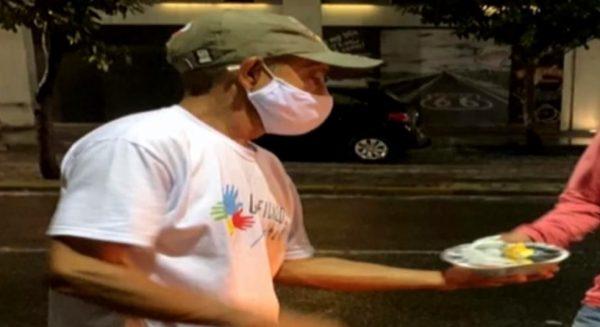 ex-morador de rua vira voluntario em projeto