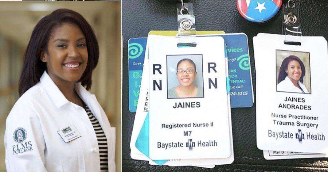 enfermeira trabalha mesmo hospital que foi zeladora