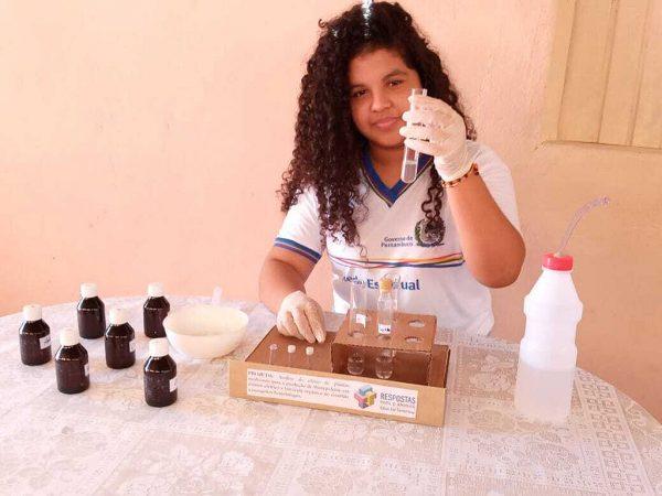 estudantes criam repelente para dengue