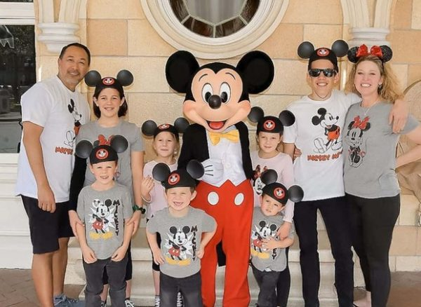 Família na Disney