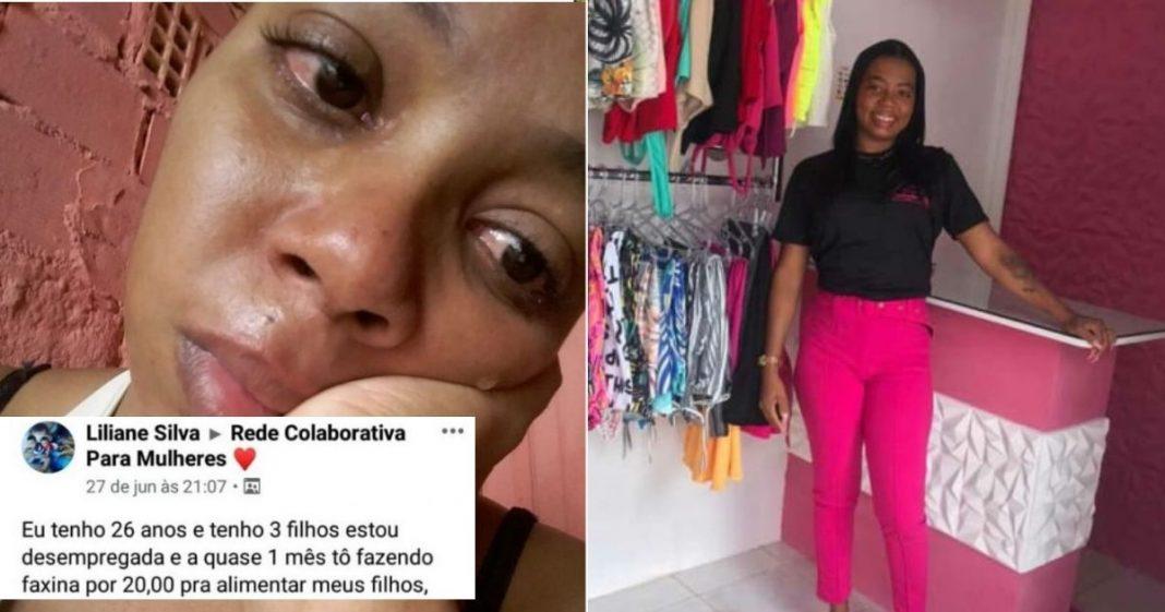 Com ajuda de vaquinha, mulher que anunciou faxina por R$ 20 empreende e inaugura sua própria loja 3