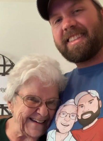 Matt e a avó