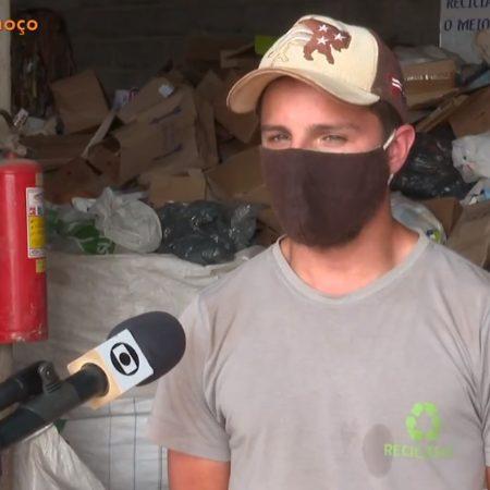 Gustavo achou 5 mil no lixão