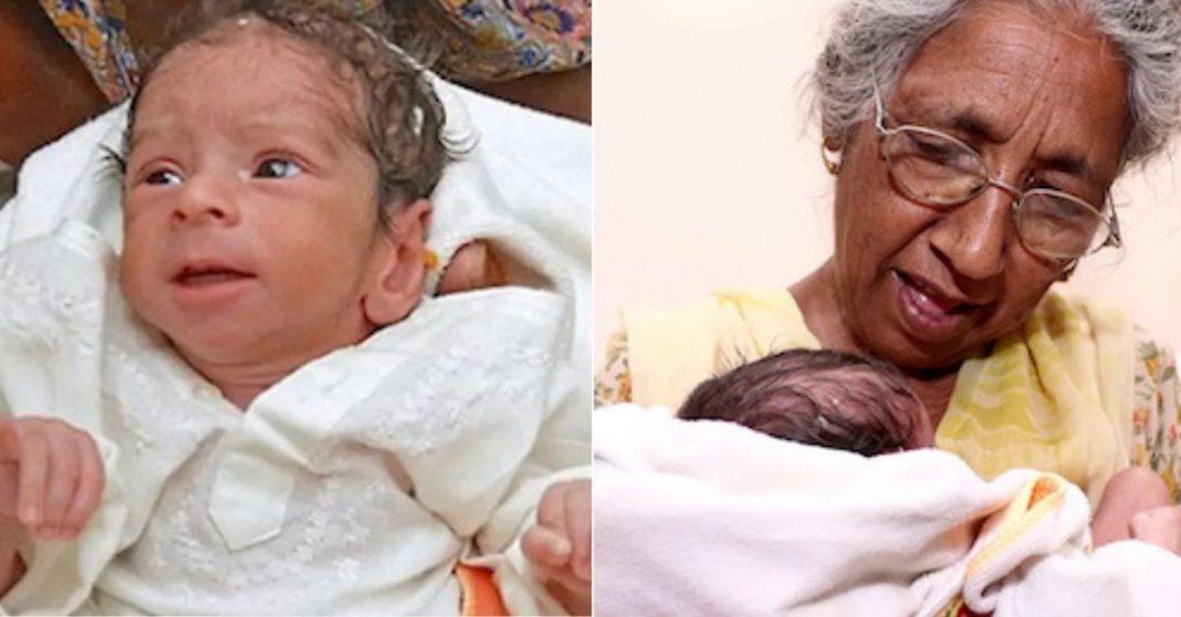 indiana da a luz filho 72 anos