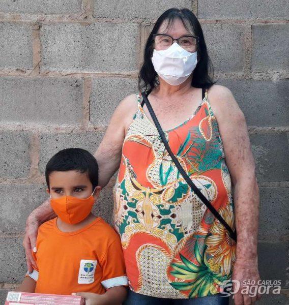 João e a mãe