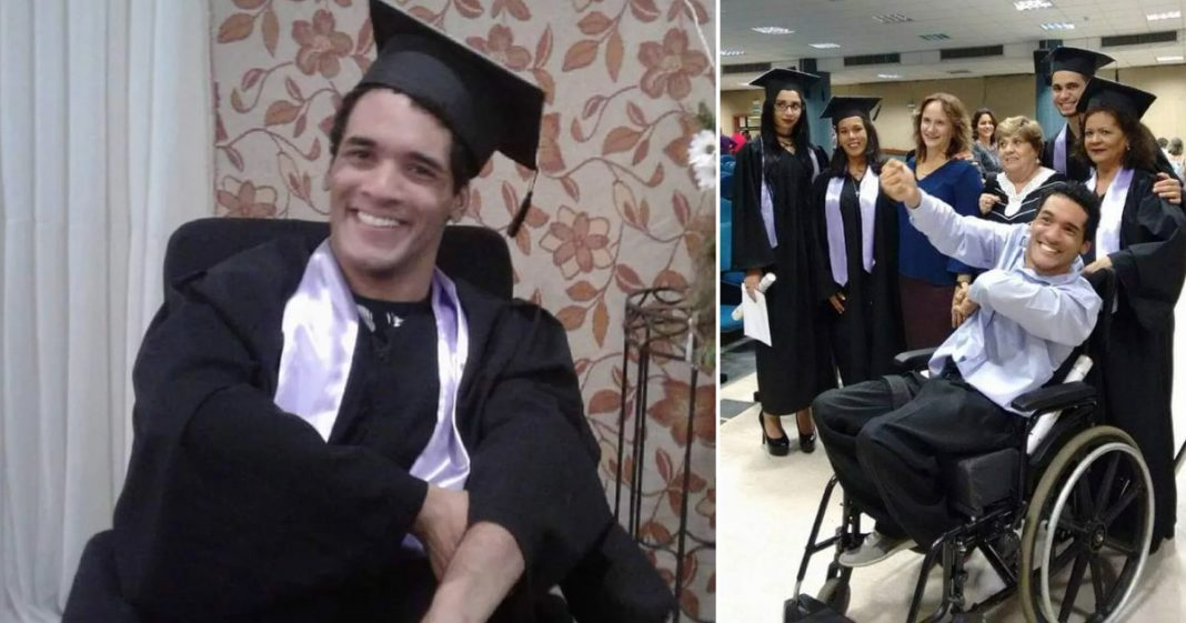 jovem com paralisia cerebral se forma e escreve livro