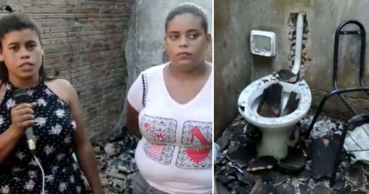 Jovem tem casa incendiada por ex-namorado e pede ajuda para construir um novo lar 2