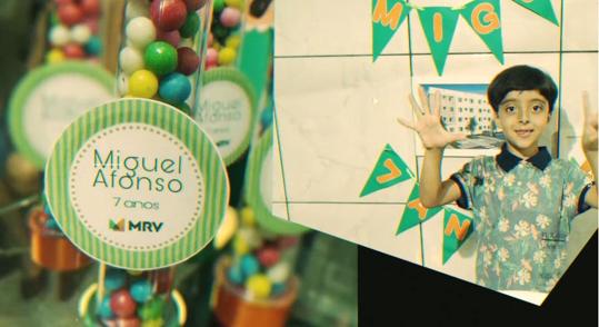 Menino pede aniversário de 7 anos com tema MRV e empresa faz linda festa surpresa! 2