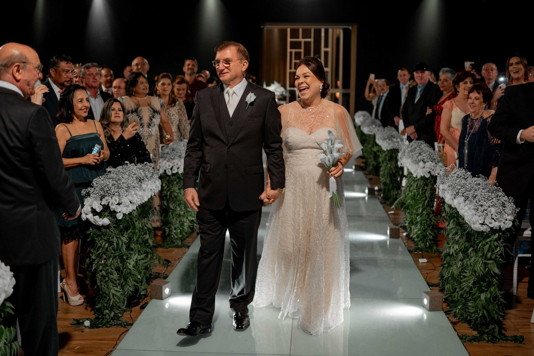 Filhos realizam o sonho da mãe e organizam cerimônia de casamento dos pais 40 anos após a união 1