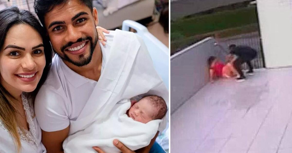Homem faz o parto da própria filha na portaria do prédio e compartilha o dia mais emocionante de sua vida 1