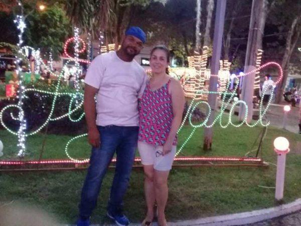 Jailson e a esposa
