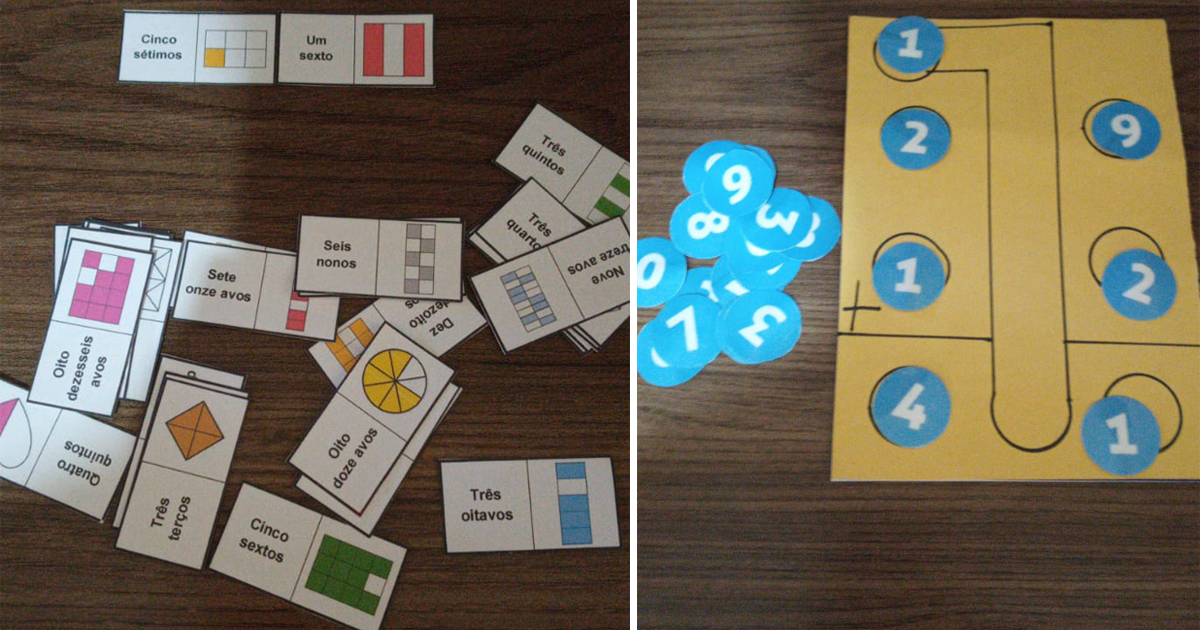 Professora cria jogos de tabuleiro para ensinar matemática e alunos aprendem brincando: 'muito mais divertido' 1