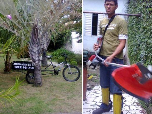 Bicicleta que seu Queiroz usava para trabalhar