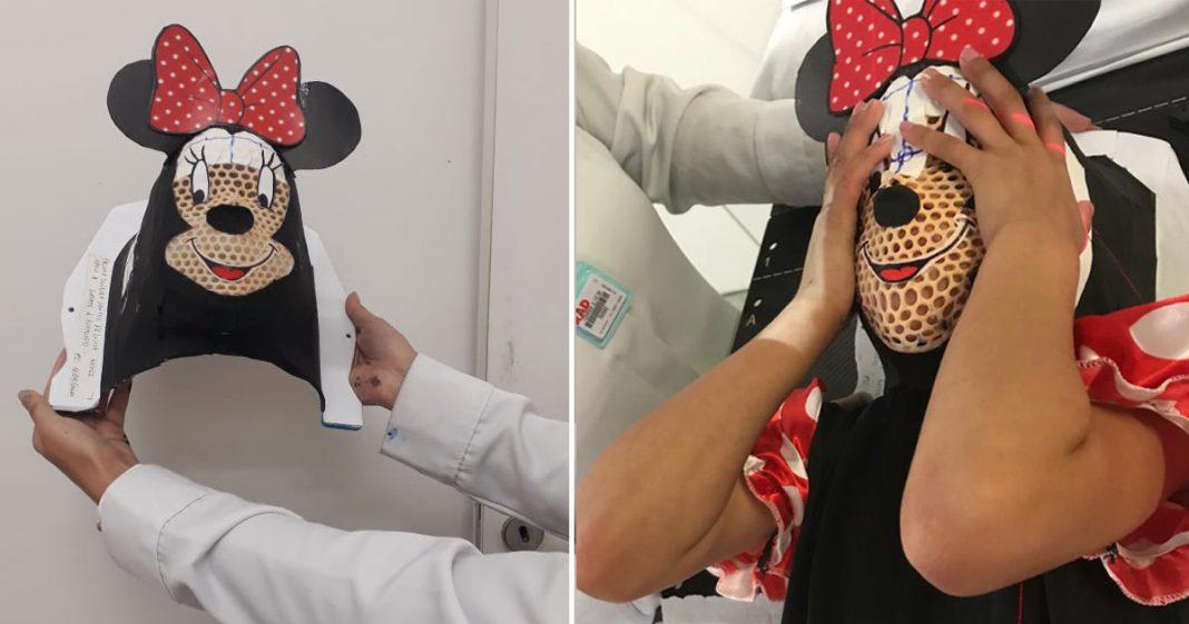Máscaras lúdicas aliviam sessões de radioterapia de crianças com câncer em hospital de BH 4