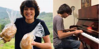 Raul vendeu pão pra comprar piano
