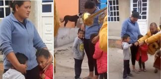 garotinho faz serenata pra mãe