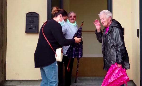 Vila para idosos com Alzheimer
