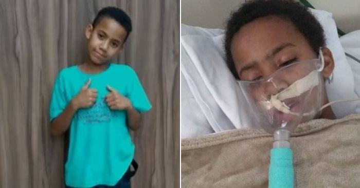 Criança fica hospitalizada após comer marmita envenenada e família recebe ajuda e muito apoio de internautas 1