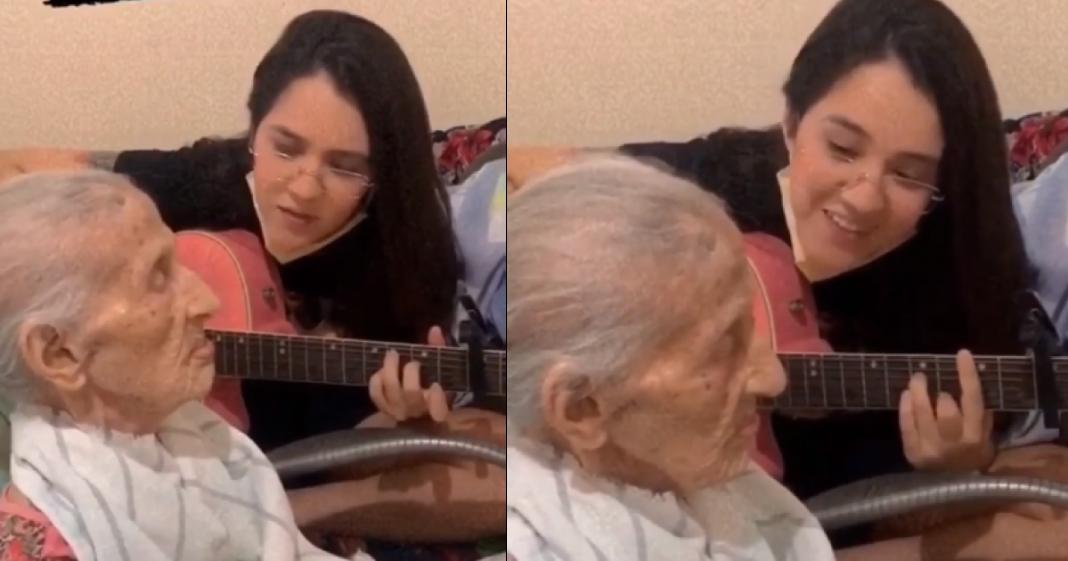 [VÍDEO] Jovem faz homenagem para avó com música do cantor Daniel e emociona a web 1