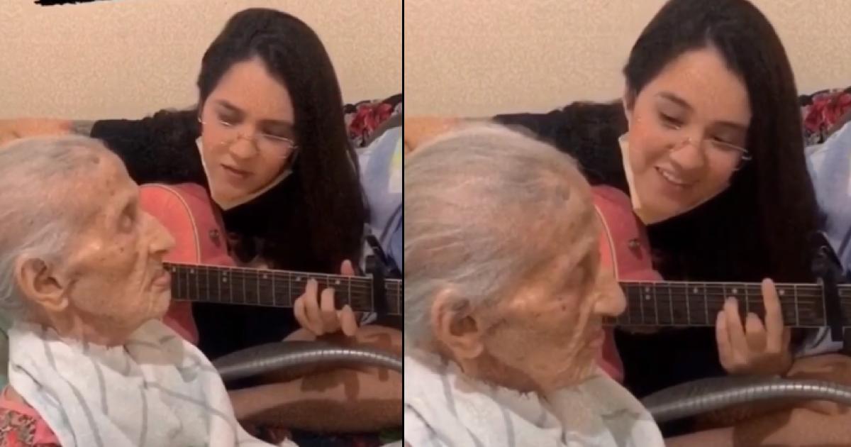 [VÍDEO] Jovem faz homenagem para avó com música do cantor Daniel e emociona a web 6