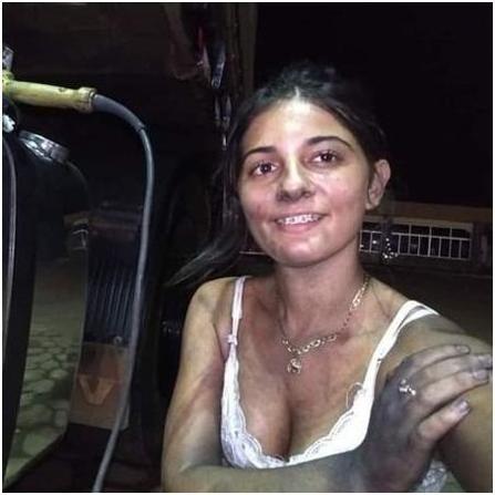 Aos 21 anos, ela tem a própria empresa de polimentos em Rondônia e lidera equipe de homens 4